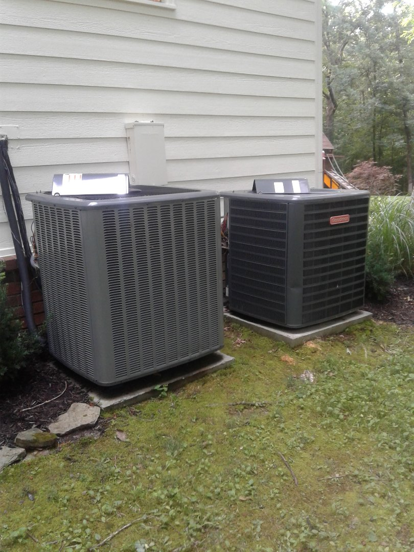 Bartlett, TN - Tune-up on Amana and Goodman Air Conditioners