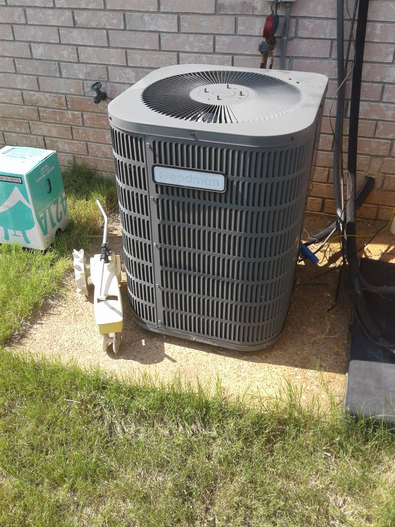Oakland, TN - a.c. repair on Goodman air conditioner