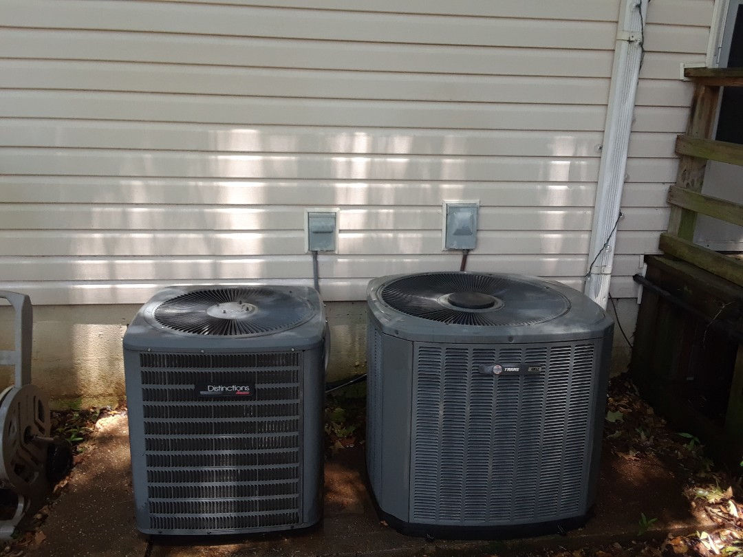 Germantown, TN - AC TUNE UP ON AMANA SYSTEM AND TRANE SYSTEM,UNDER MEMBERSHIP.