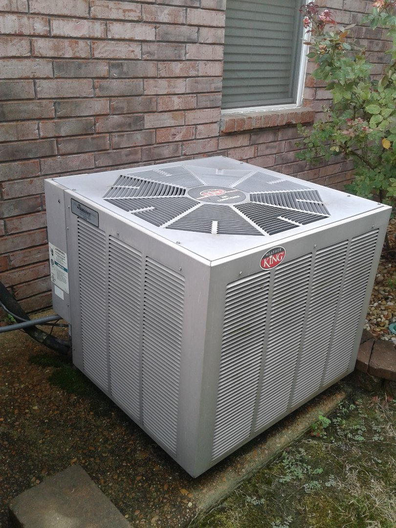 Memphis, TN - Service call on Weather King air conditioner