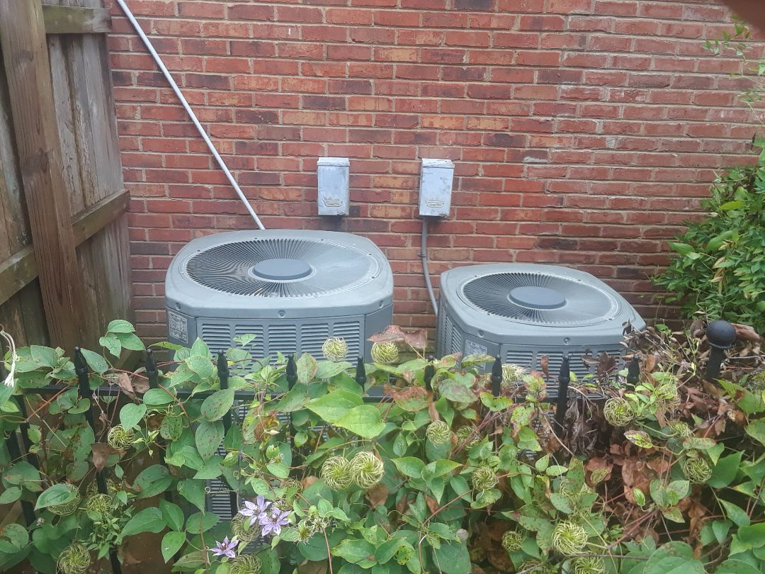 Germantown, TN - AC TUNE UP ON TWO TRANE SYSTEMS, UNDER MEMBERSHIP.