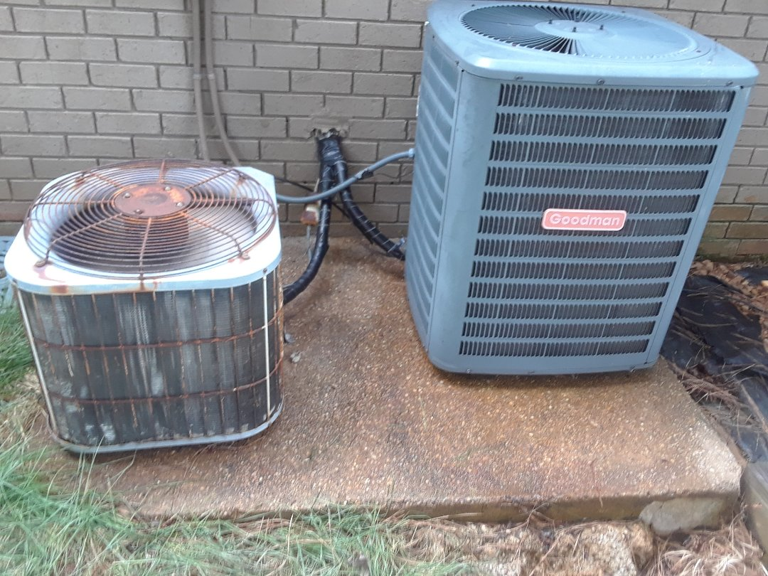 Memphis, TN - AC TUNE UP ON GOODMAN AND LENNOX SYSTEMS.