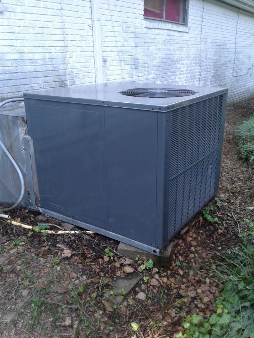Bartlett, TN - Seasonal maintenance and repair on package unit.