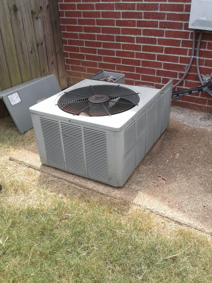 Lakeland, TN - Service call and Repair on Rheem air conditioner