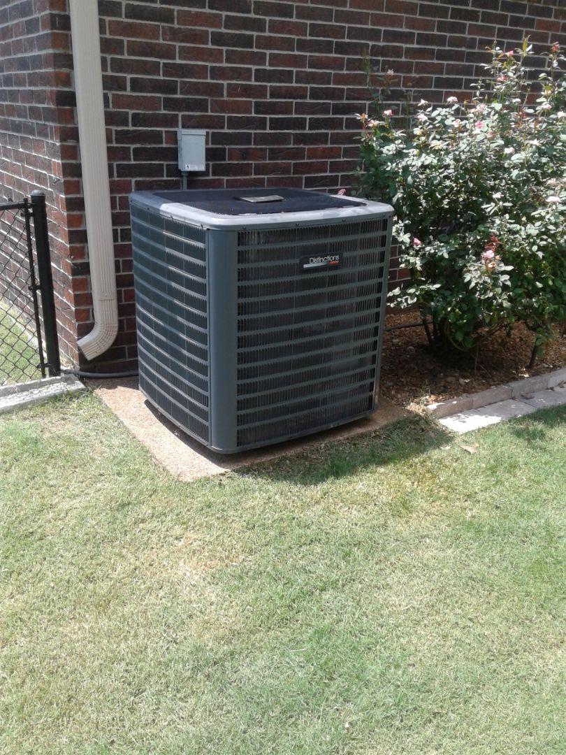 Bartlett, TN - Replaced in warranty compressor.