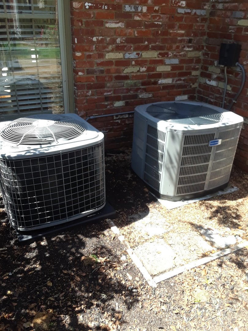 Collierville, TN - AC TUNE UP ON AMERICAN STANDARD AND TEMPSTAR SYSTEMS, UNDER MEMBERSHIP.