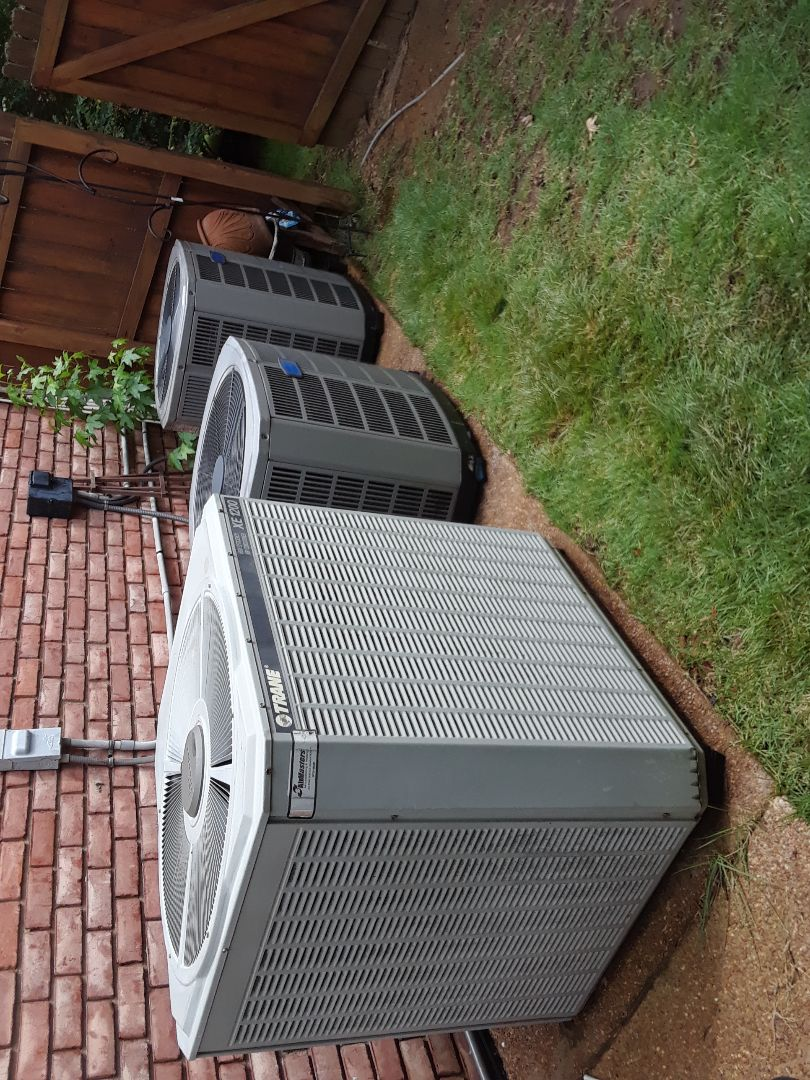 Collierville, TN - AC TUNE UP ON TWO AMERICAN STANDARDS SYSTEMS AND ONE TRANE SYSTEM, UNDER MEMBERSHIP,UNDER MEMBERSHIP.