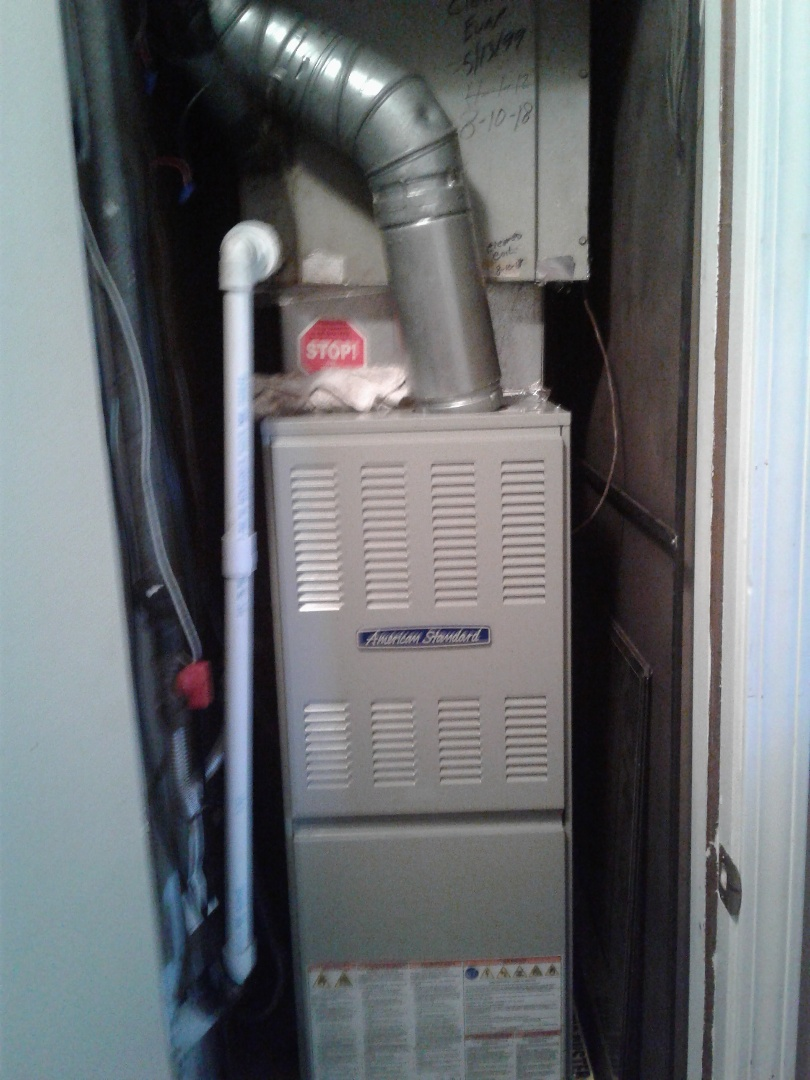 Bartlett, TN - Service call and repairs on American standard and RHEEM aystem