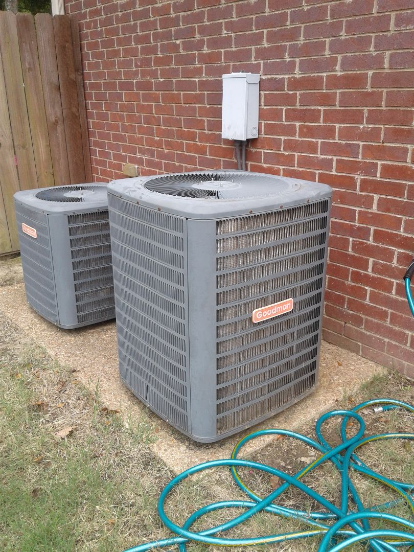 Lakeland, TN - Service call and repair on Goodman air conditioner