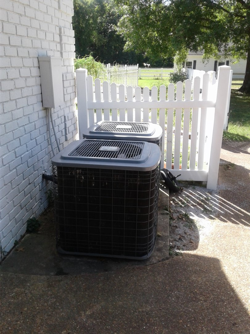 Bartlett, TN - Replacing bad compressor in downstairs system