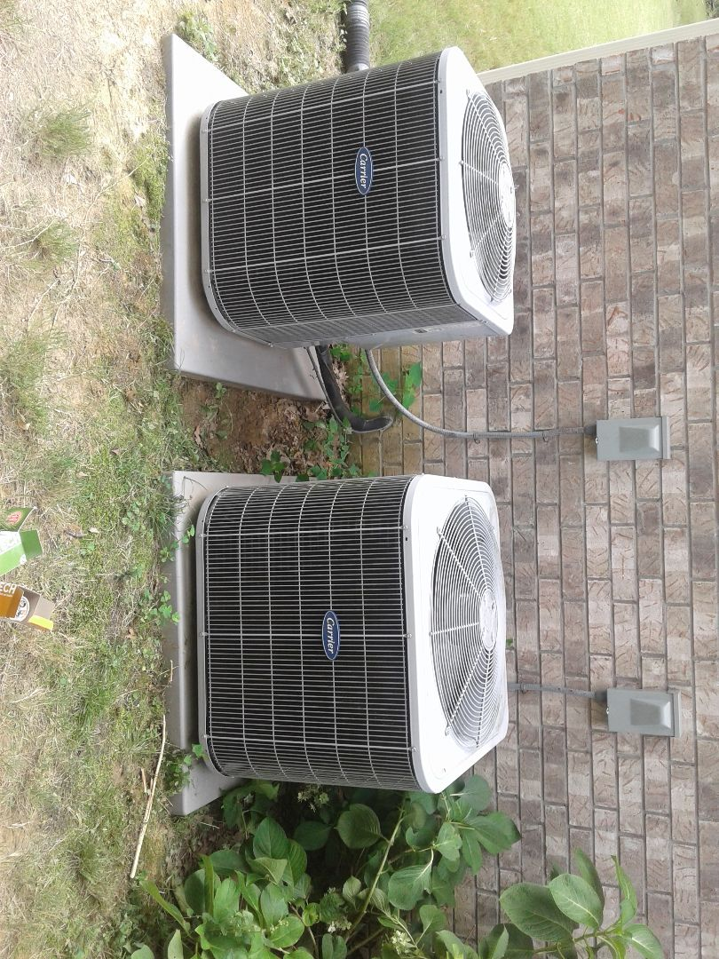 Lakeland, TN - a.c. repair on carrier air conditioner