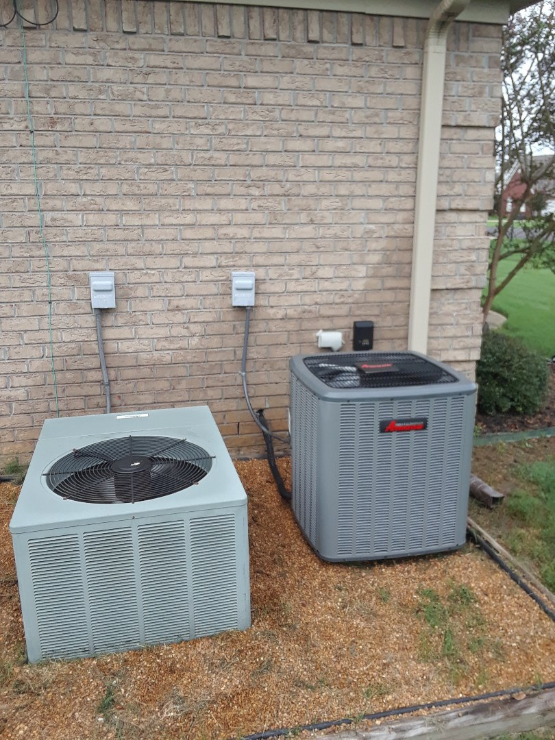 Atoka, TN - AC TUNE UP ON AMANA SYSTEM AND RUUD SYSTEM,UNDER MEMBERSHIP.