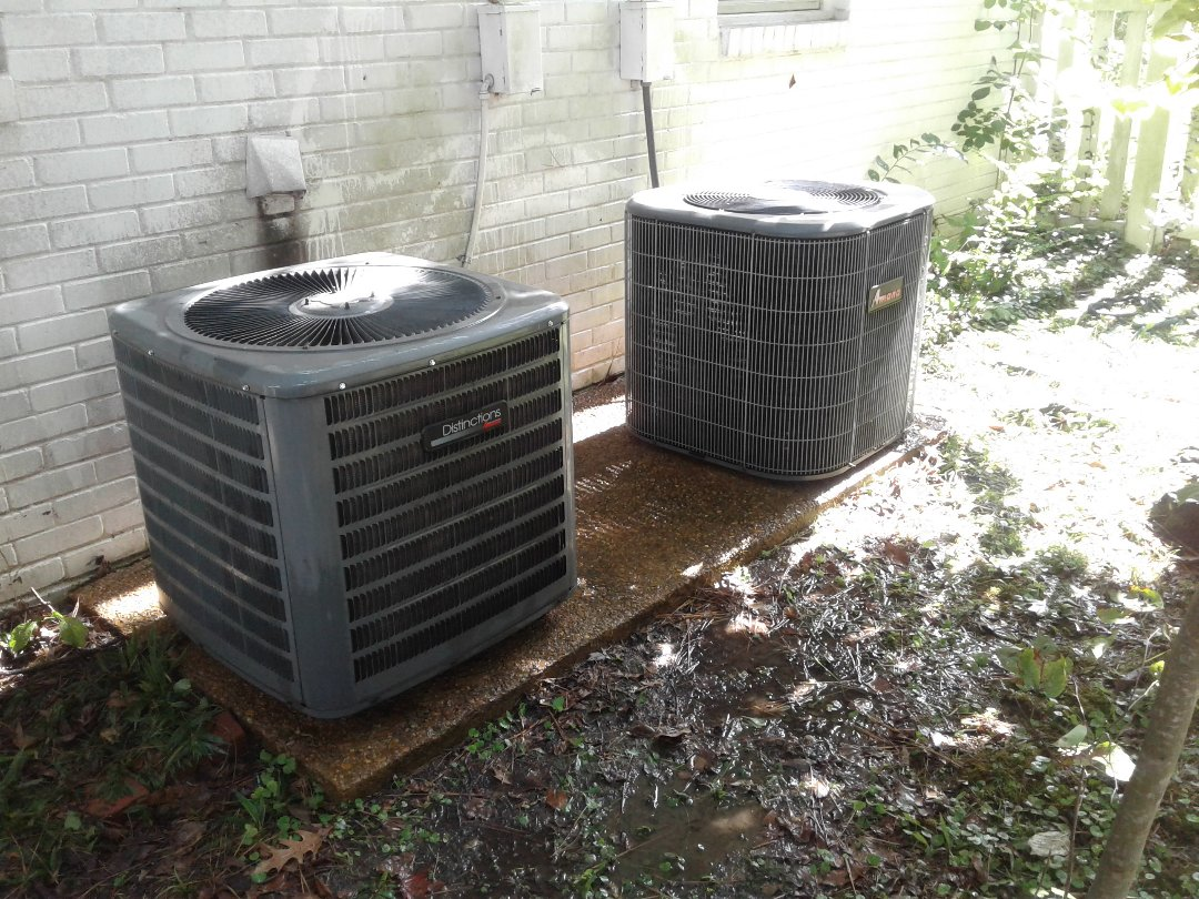 Germantown, TN - Tune-up on Amana and Rheem air conditioners