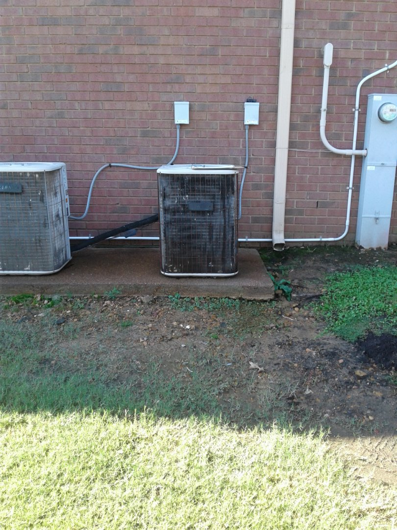 Germantown, TN - Bad compressor on upstairs ac system.