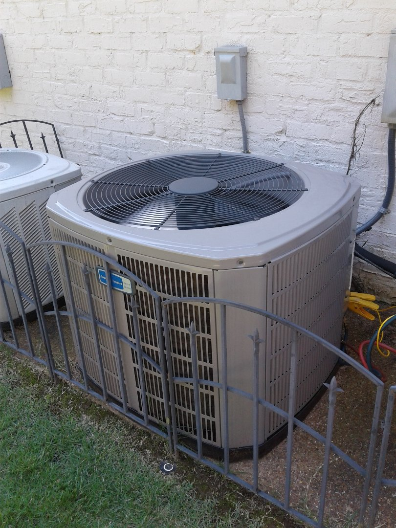 Germantown, TN - Warranty repair on American Standard air conditioning