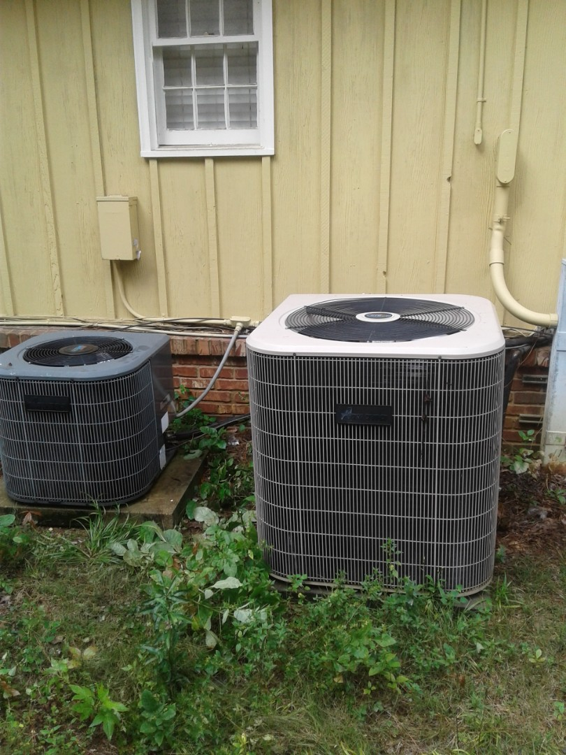 Germantown, TN - Replacing bad smc on condenser.