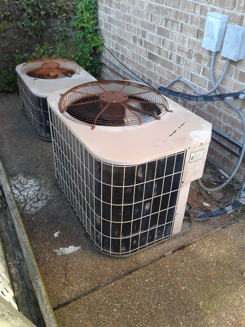 Arlington, TN - Service column repair on York air conditioner