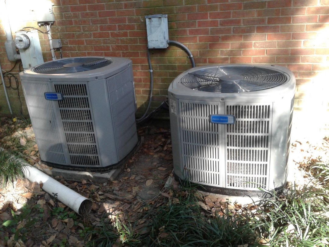 Germantown, TN - Warranty call on American Standard air conditioners