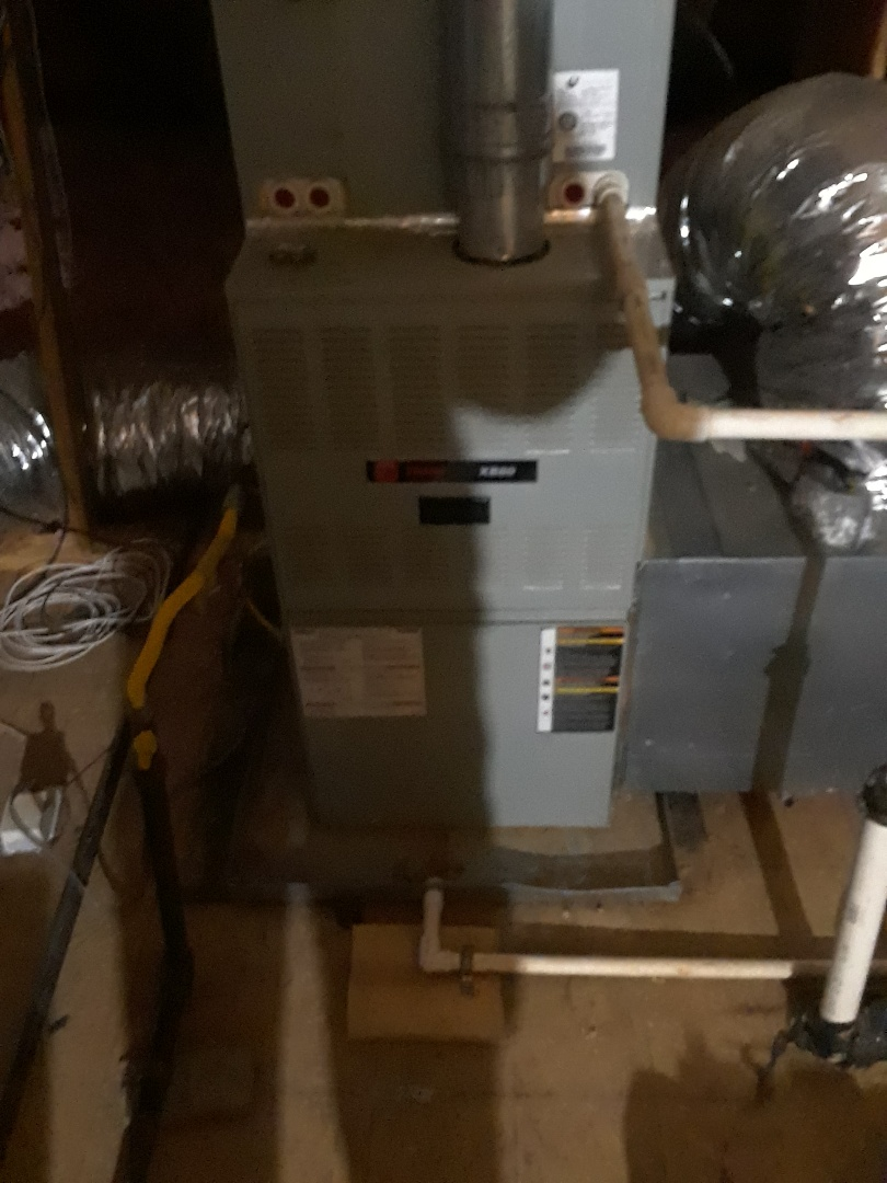 Oakland, TN - HEAT TUNE UP ON TWO TRANE FURNACES, UNDER MEMBERSHIP.