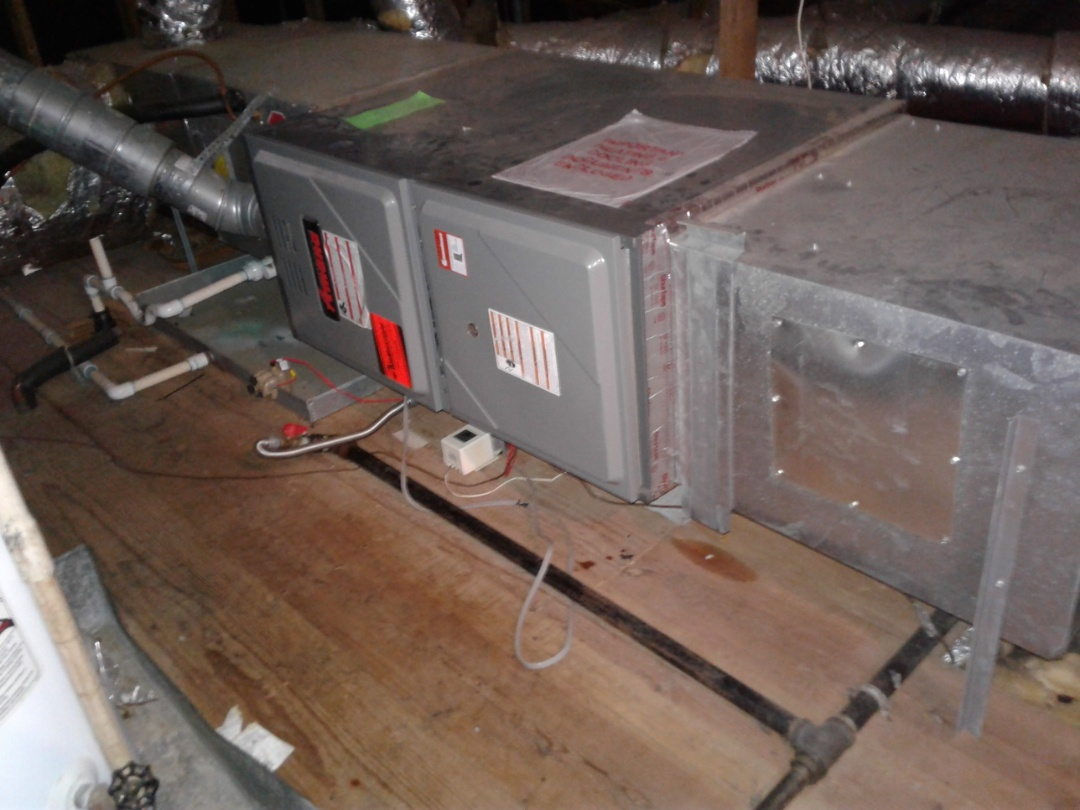 Germantown, TN - Maintenance and safety inspection on furnace.