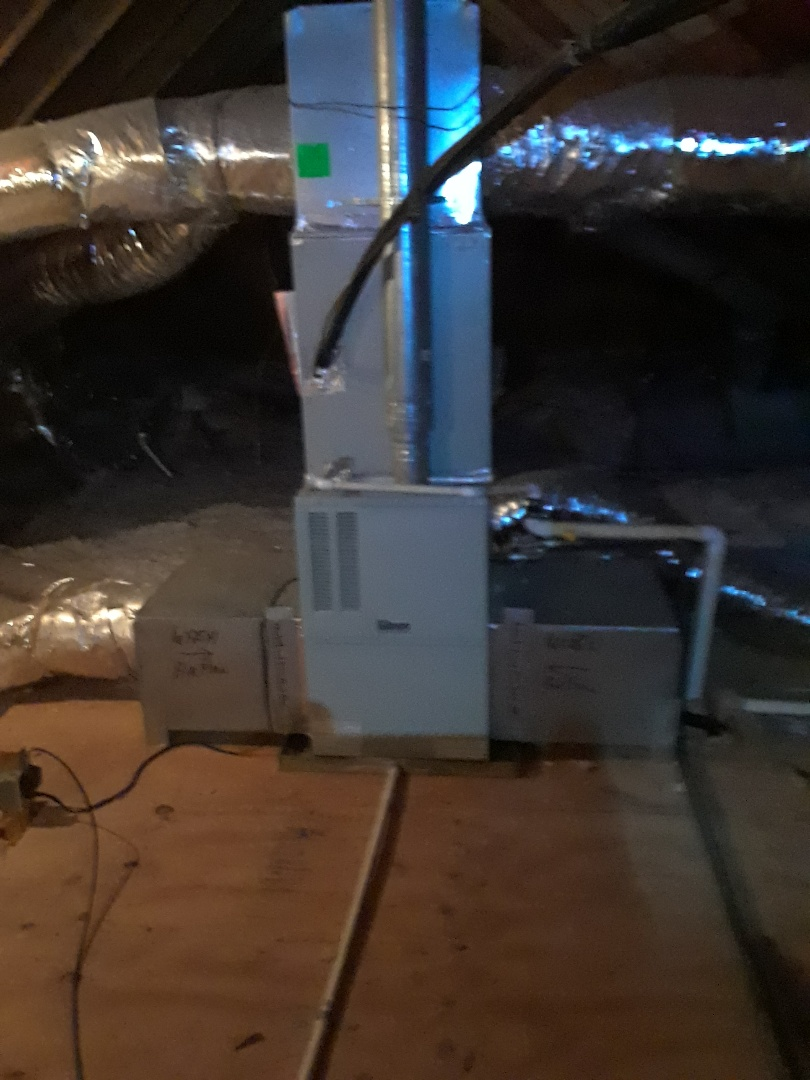 Bartlett, TN - HEAT TUNE UP ON TWO GIBSON FURNACES, UNDER MEMBERSHIP.