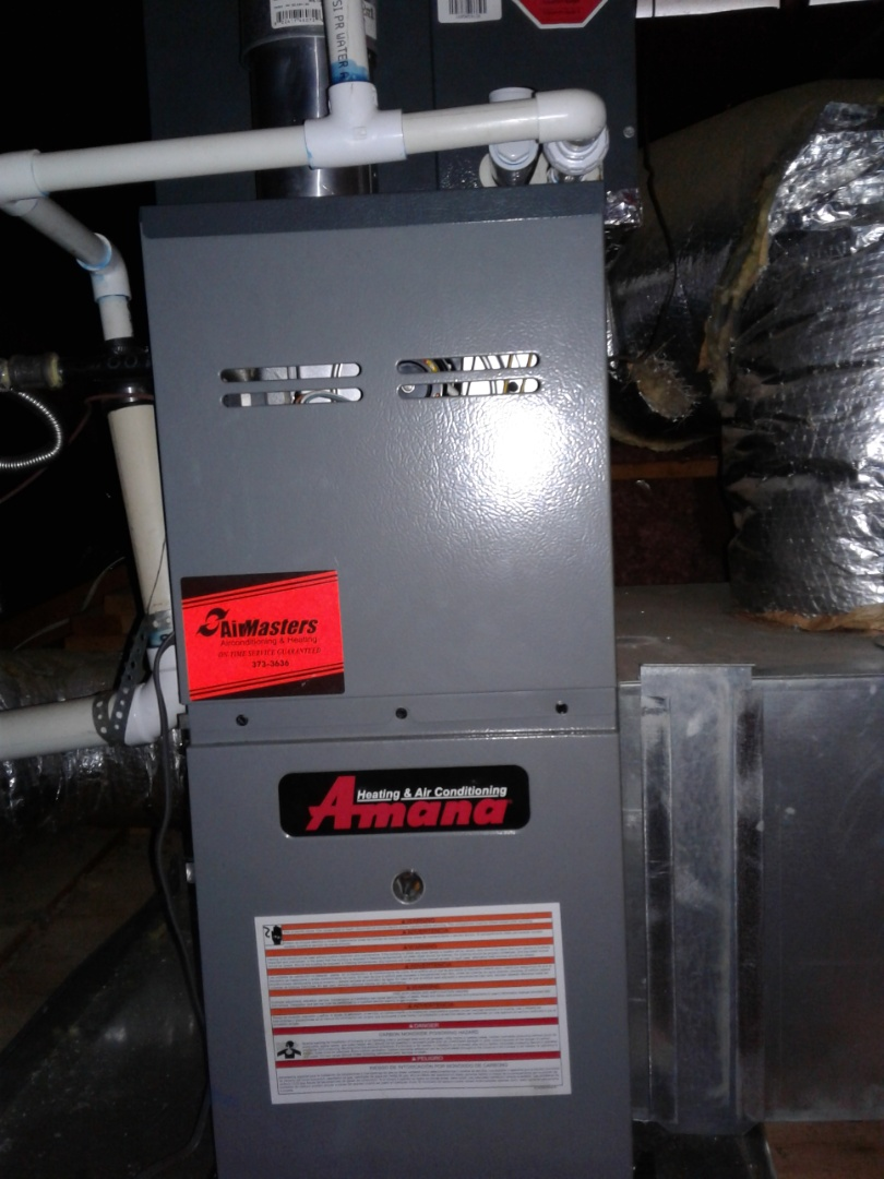Bartlett, TN - Heat tune up and safety inspection on furnace