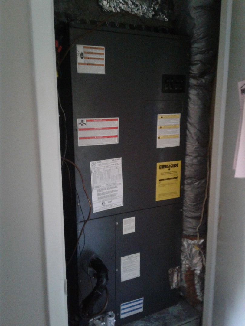 Germantown, TN - Service call on Good man mishandled and heat pump