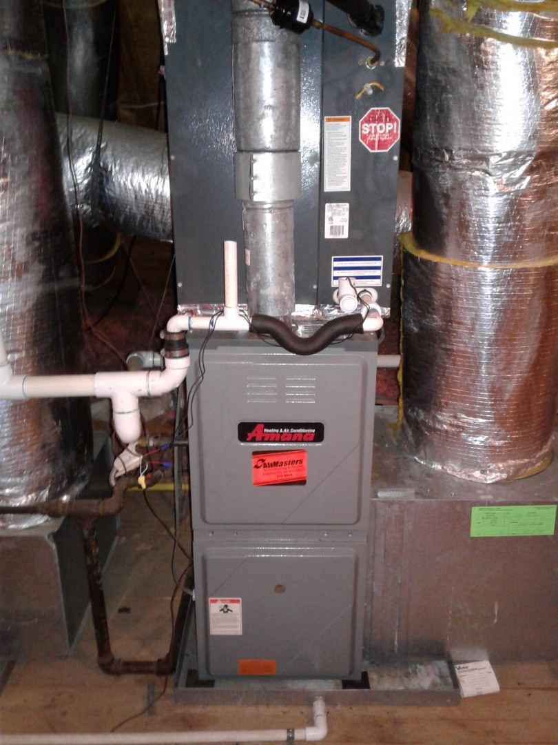 Germantown, TN - Heat tune up and safety inspection on furnace.