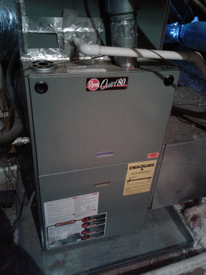 Lakeland, TN - Heat tune-up on Rheem furnaces