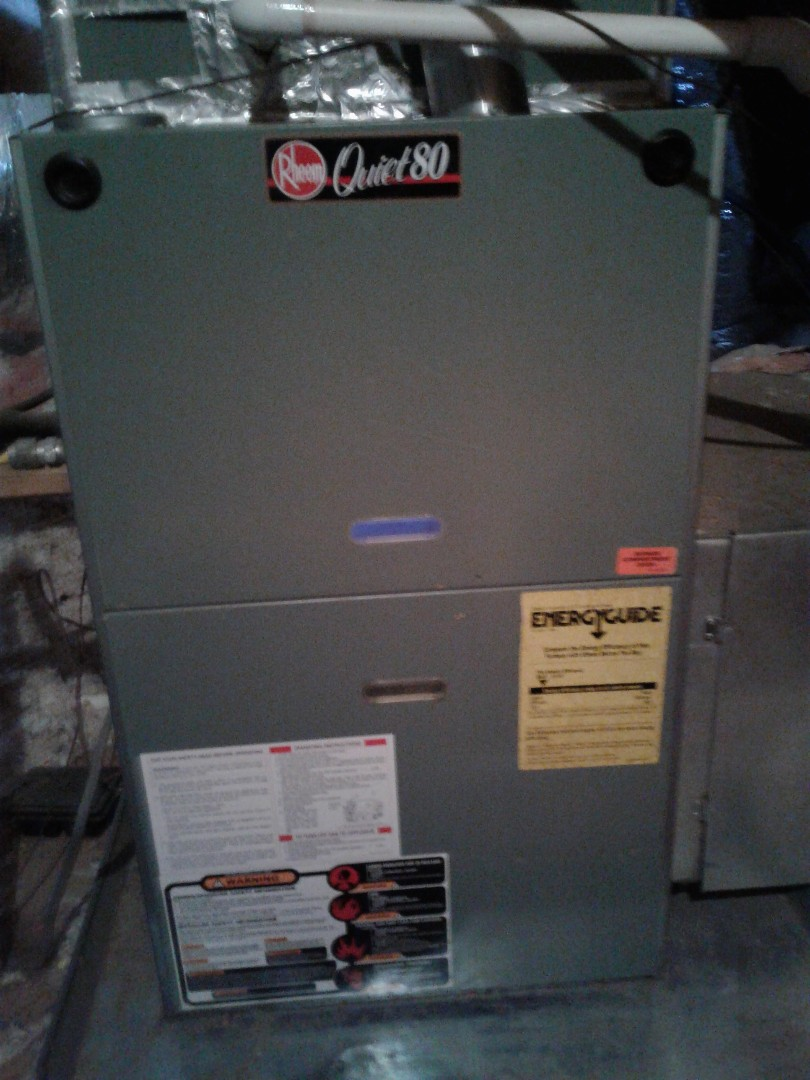 Lakeland, TN - Service column repair on Rheem furnace