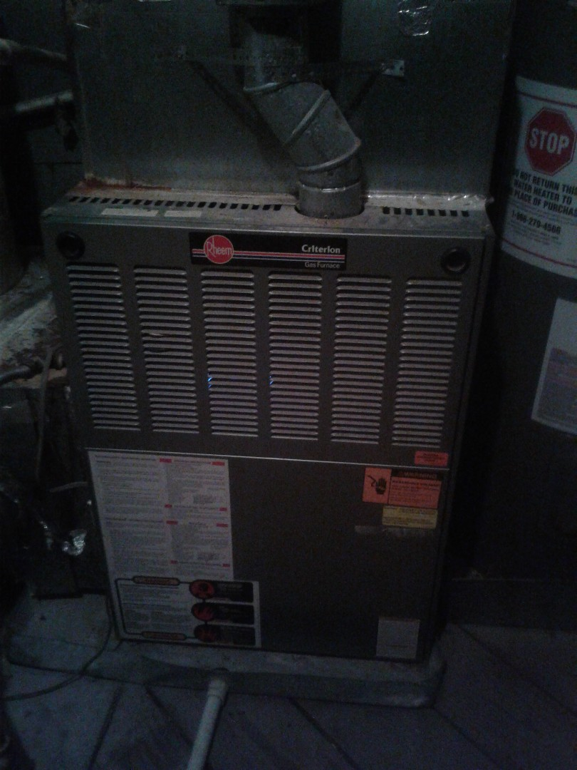 Collierville, TN - SERCIXE CALL AND REPAIR ON RHEEM FURNACE