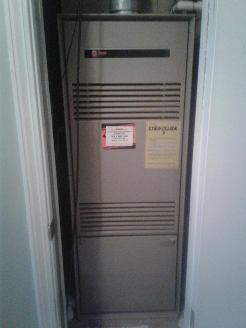 Bartlett, TN - Safety inspection on Trane furnace