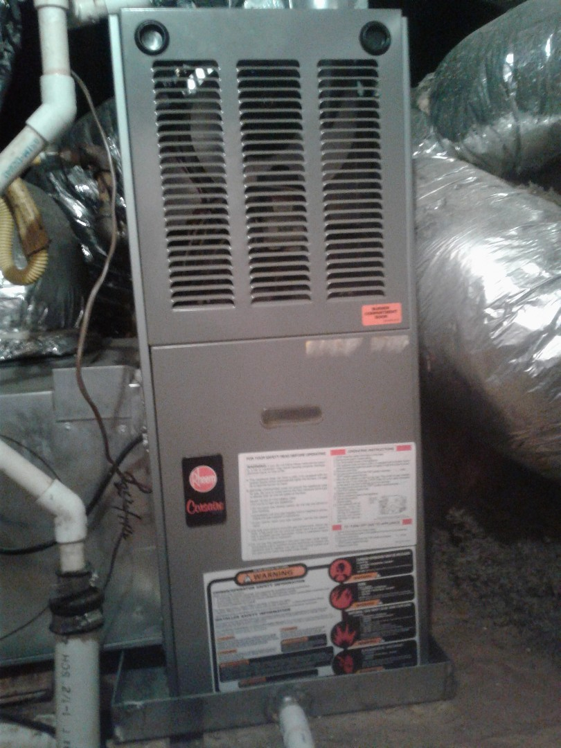 Bartlett, TN - Tune up on Rheem furnace