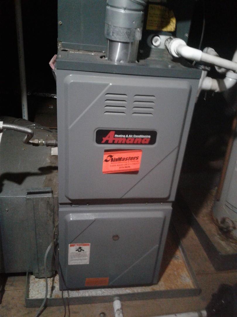 Memphis, TN - Tune up on Amana furnace