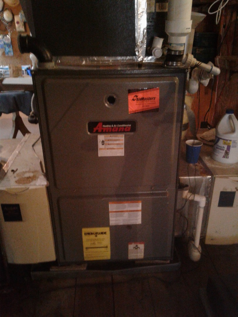 Memphis, TN - Service call on Amana furnace