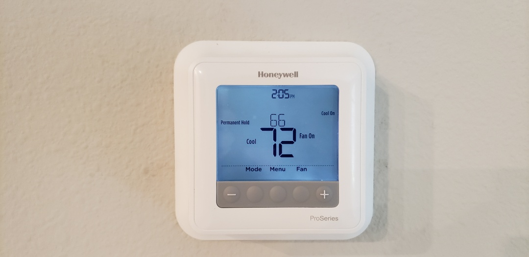 Wimauma, FL - Installed new Honeywell T6 Thermostat
