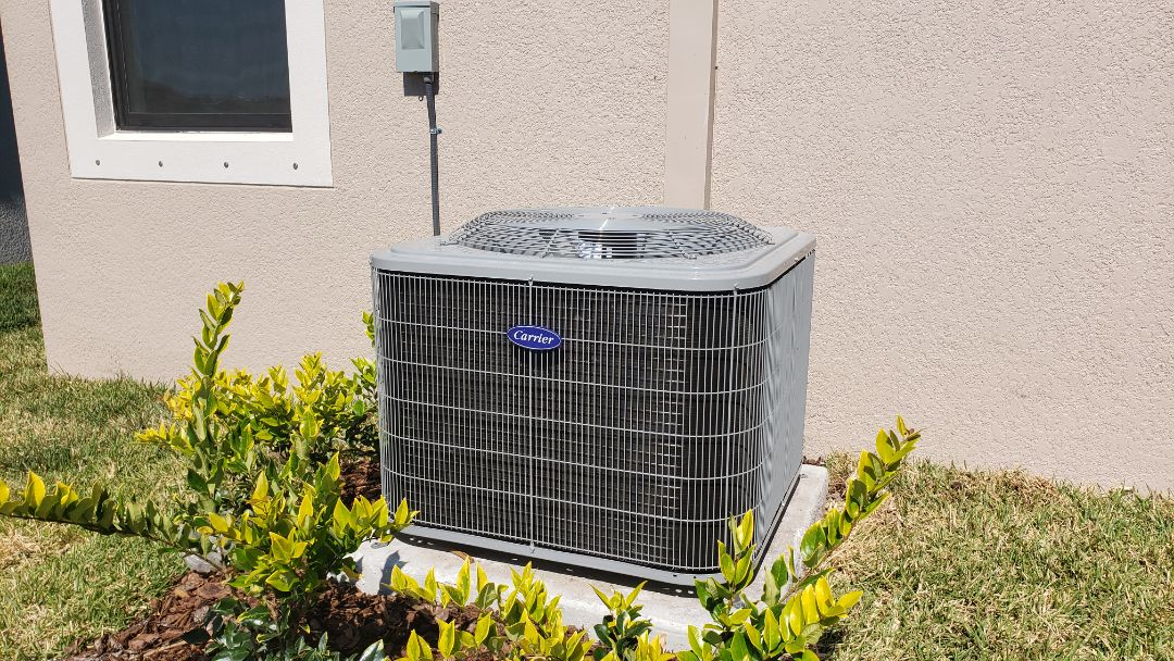 Tampa, FL - Installed new Carrier Heat Pump
