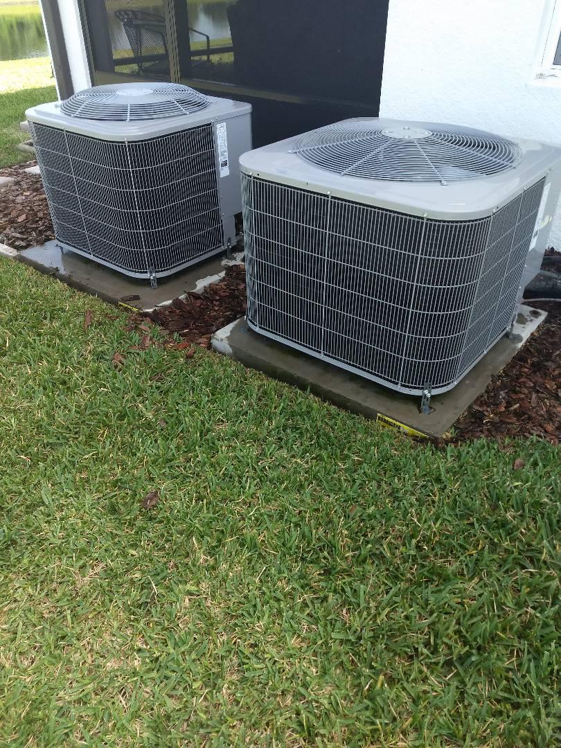 Wesley Chapel, FL - Carrier Heat pump AC system maintenance