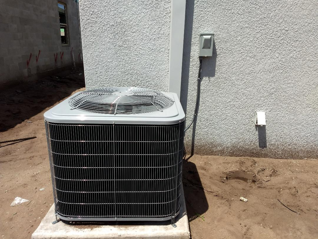 Riverview, FL - Finished installing carrier air conditioning unit