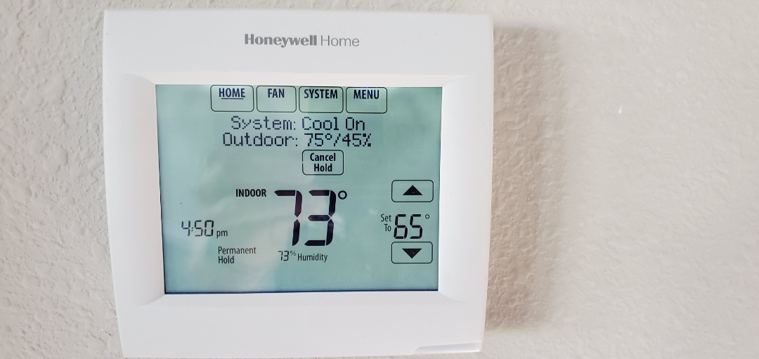 Riverview, FL - Installed Honeywell pro 8000 Thermostat