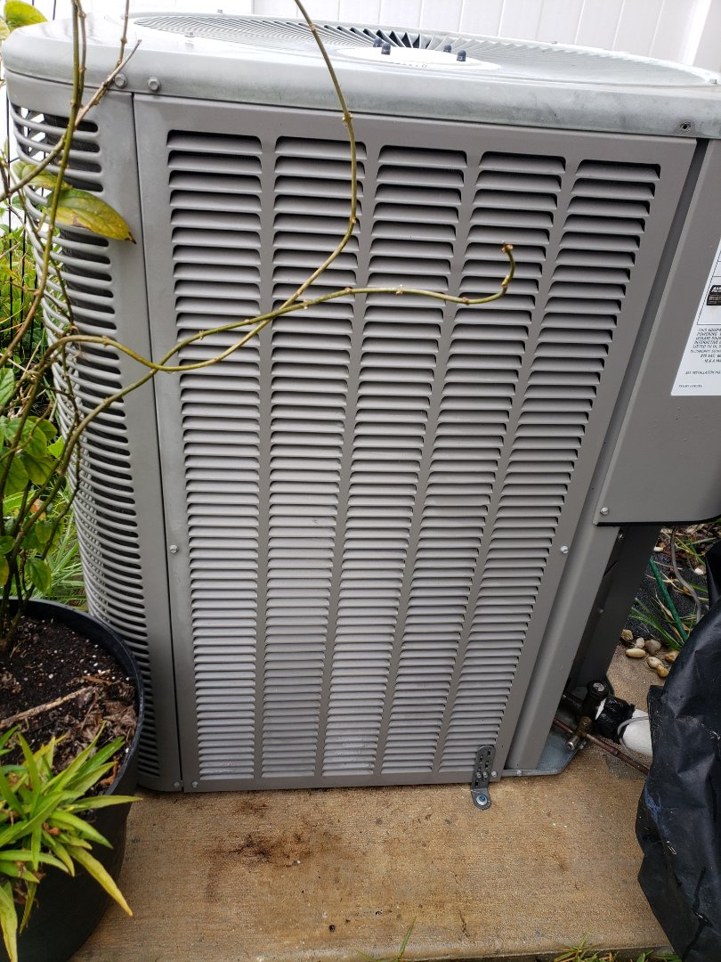 Ruskin, FL - Performed AC TUNE UP ON LENNOX HEAT PUMP SYSTEM