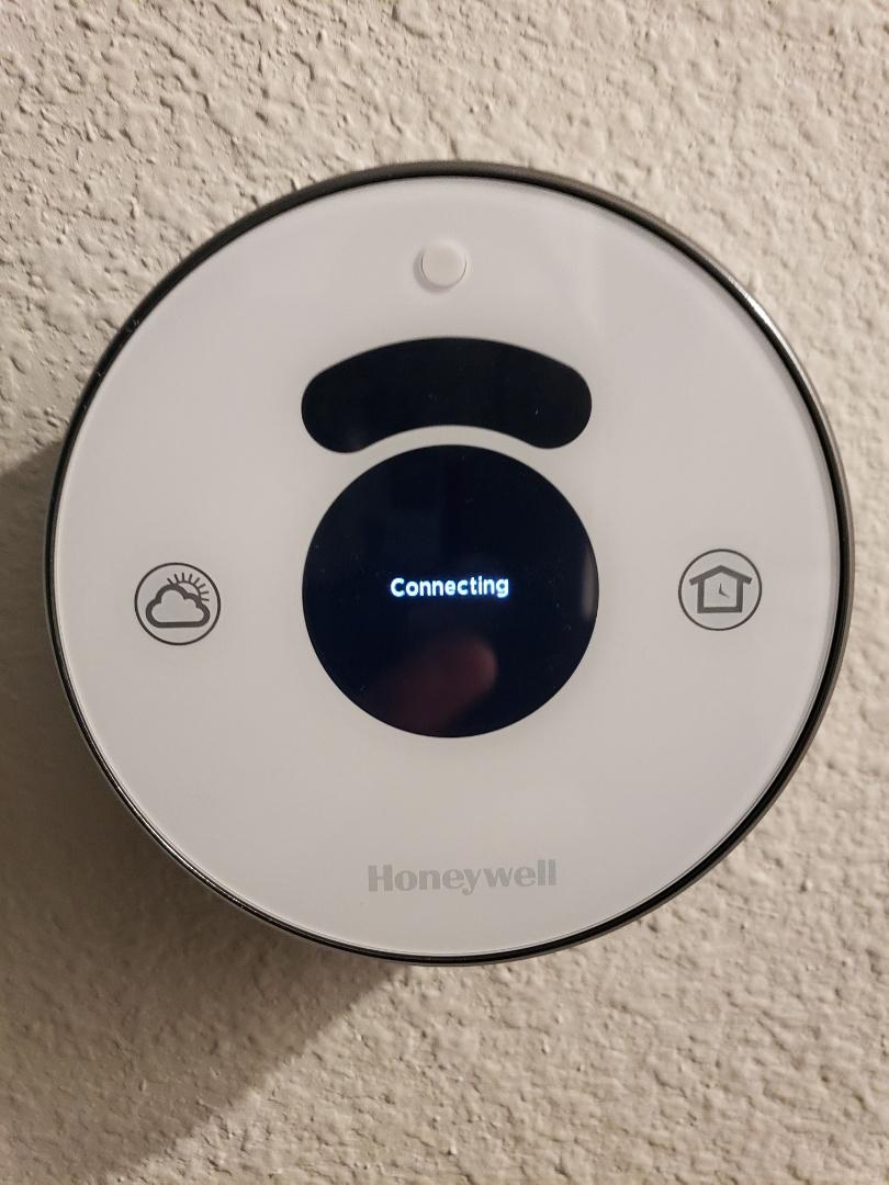 REPROGRAM HONEYWELL LYRIC THERMOSTAT