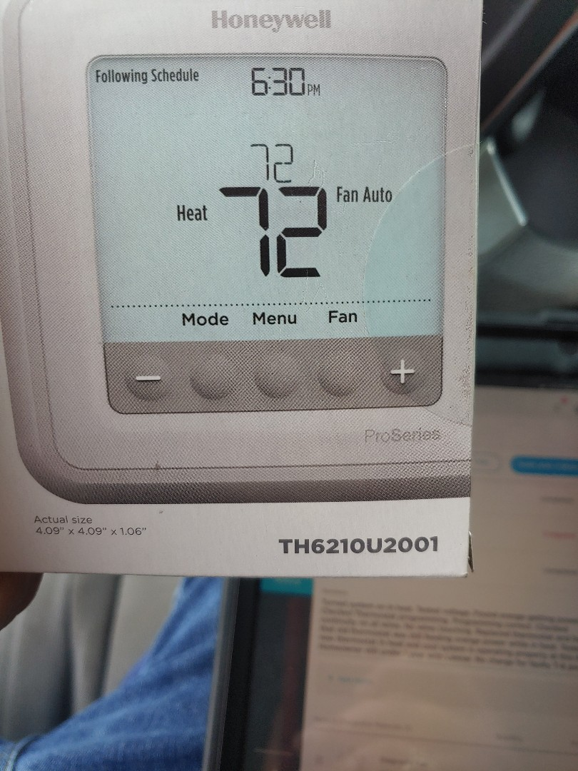 Riverview, FL - Replaced faulty thermostat.
