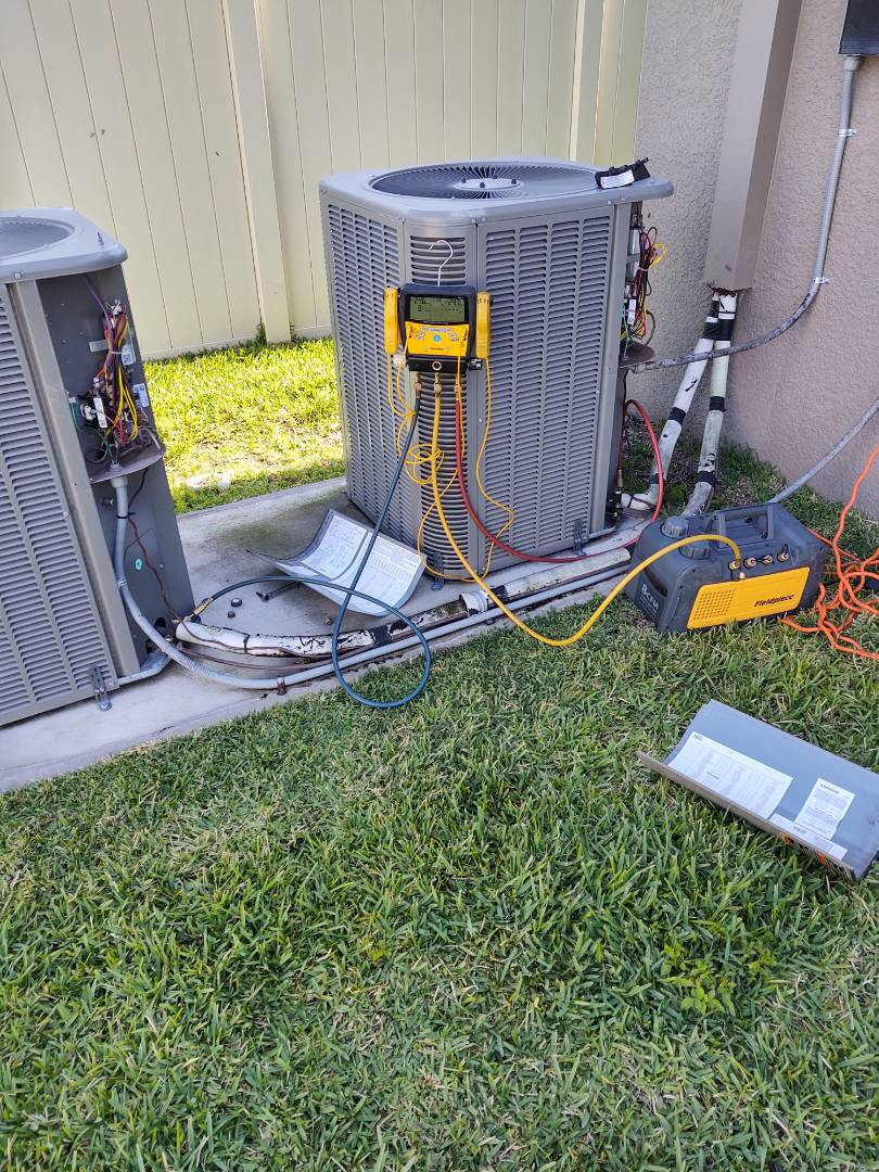 Ruskin, FL - Repaired lennox air conditioning systems