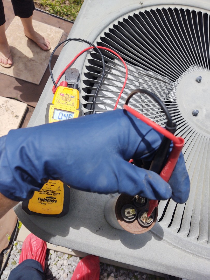 Riverview, FL - Repaired lennox air conditioning system