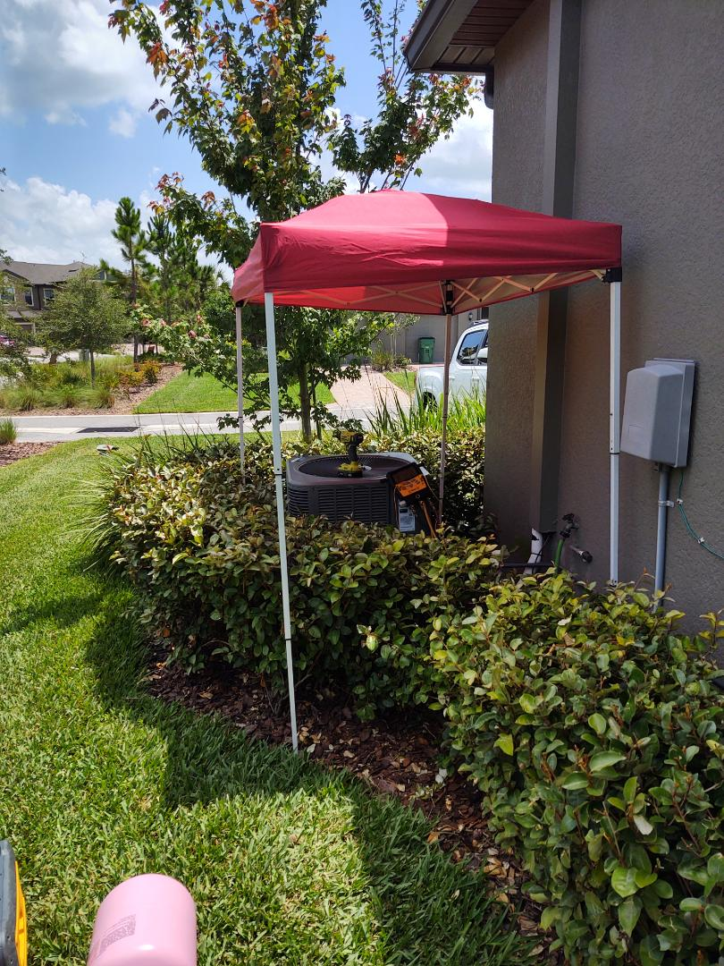 Zephyrhills, FL - Repaired lennox air conditioning system balanced charge