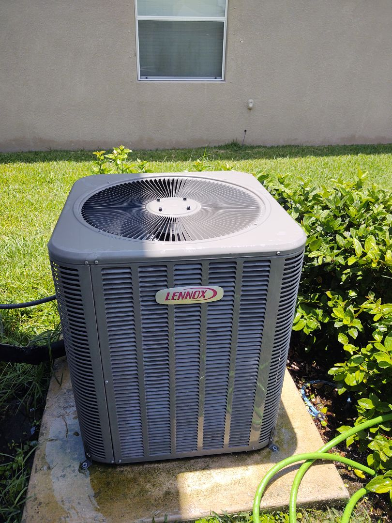 Maintenance on lennox air conditioning system