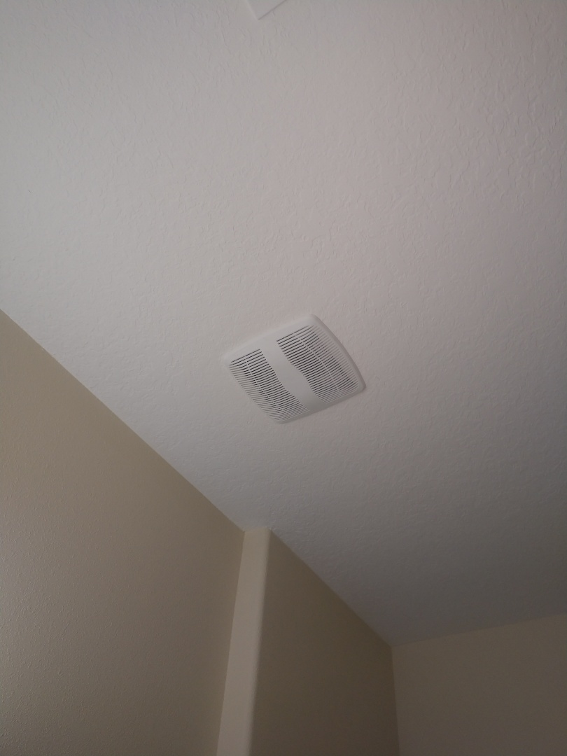 Riverview, FL - Replaced exhaust fan cover