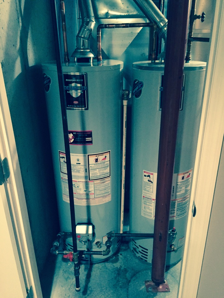 Real-time Service Area for KC Water Heaters - leawood, ks