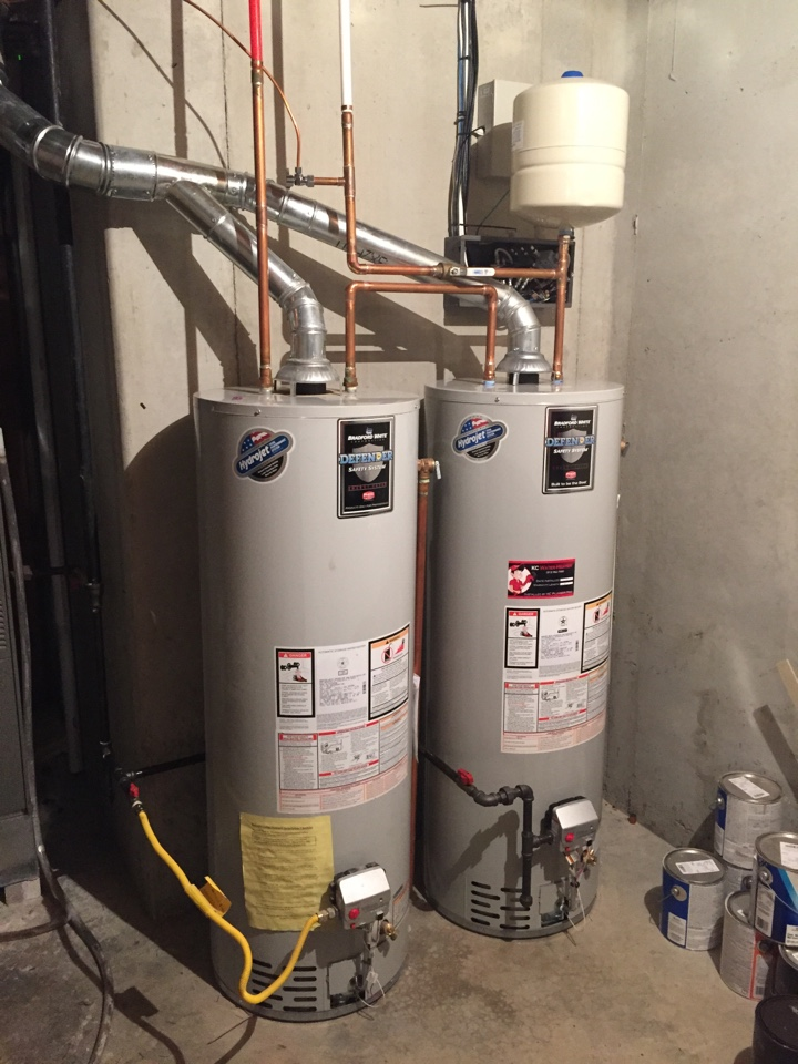 Bradford Water Heater >> Water Heaters Overland Park installed by a licensed Plumber